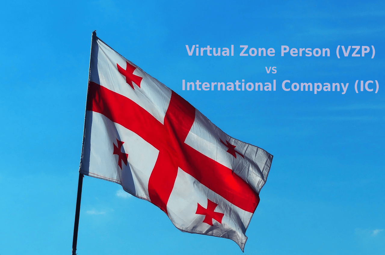 """Tax incentives in Georgia (country) applicable for IT companies holding status of """"Virtual Zone Person"""" or """"International Company."""" Which one is better and why?"""